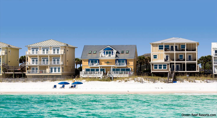 Florida Beach Vacation Rental Homes